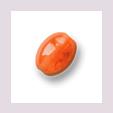 Perle, oval