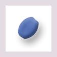 Perle, oval, matt