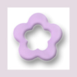 Blume mit Loch