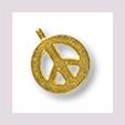 Peacezeichen Anhänger