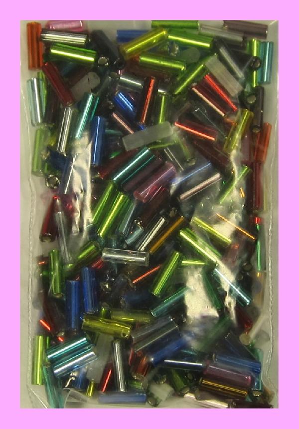 Stiftperlen mit Silbereinzug
