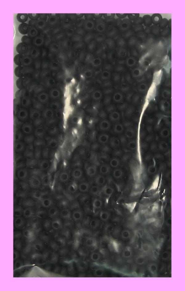 Rocaillesperlen transparent matt